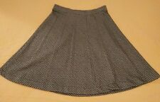 VINTAGE Center Stage-Division of Sue Ann Inc. Houndstooth Swing Midi Skirt SZ S?