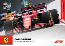 ➠ Topps Now Formula 1 #59 Carlos Sainz jr. - Scuderia Ferrari (PreOrder)