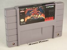 DEMON'S CREST NINTENDO SNES SUPER NES NTSC US AMERICANO 100% ORIGINAL LEGIT RARO