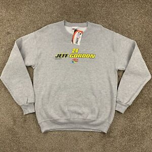 NWT JEFF GORDON Chase Authentics Nascar Sweatshirt Pullover Gray 24 Size Medium