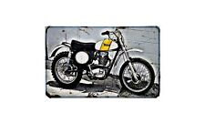 Bsa B50Mx Motorbike A4 photo Retro Bike