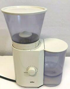 Vintage Braun KMM 30 Coffee/Espresso Mill Burr Grinder 3045 Ivory