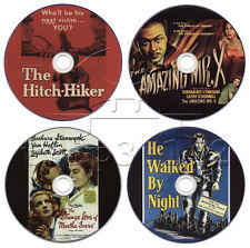 Film-Noir Movie DVD Collection: He Walked by Night, Hitch-Hiker, Amazing Mr X...