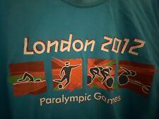 Rare Genuine Paralympics London 2012T Shirt Xl Adults Olympics Football Cycling