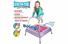 Chad Valley Ragazzo Junior Indoor TAPPETO ELASTICO BRILLANTE PER Bouncing Bambini 3+ anni