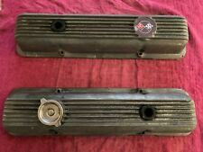 1969 Camaro Z/28 & Corvette Finned Aluminum Valve Covers 3932418 (No Drippers!)