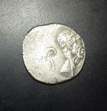Ancient Roman silver denarius Julius Caesar 40 BC Authentique Pièce