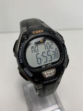 Timex Ironman 30 Lap Unisex Watch Digital Alarm Chrono WR 100 M New Battery