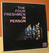 The Four Freshmen In Person LP: 1958. (E)