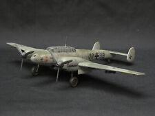 1/72 REVELL MESSERSCHMITT Me-110 E LUFTWAFFE FULL PRO BUILD & PAINT SCALE MODEL