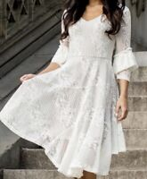 Womens Joyfolie MARABEL DRESS IN CREAM size XL X Large NEW