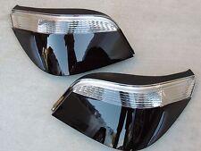 CUSTOM 04-07 BMW 5-Series E60 Custom Smoked OEM Tail Lights Painted Black Tinted