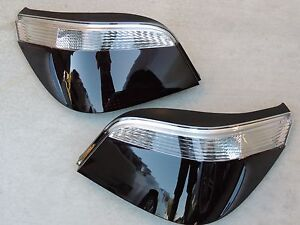 04-07 BMW E60 Smoked OEM Tail Lights Blacked out Tinted Custom Painted!