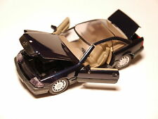 Mercedes W/R 129 500 SL GLASDACH glas hard top blau metallic, Schabak 1:43 VSC!