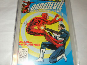Daredevil #183 CGC 9.8 Punisher shoots Daredevil cover Frank Miller Art