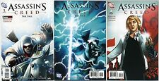 ASSASSIN'S CREED THE FALL 1 2 3 SET GAMESTOP VARIANT First Print Rare 2011