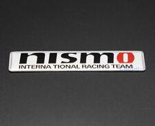 Aluminum Car Auto Decals Emblem Sticker Badge Accessories Nismo Logo For Nissan