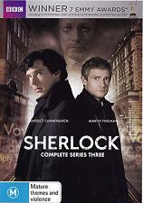 SHERLOCK Series 3 DVD R4 - PAL