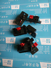 10 Pcs Speaker Terminal Plate Push / Release Connectors 2-Way Posted