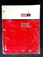 "CASE TRACTORS "" 234, 244, 254 ""  1983  Genuine SERVICE / REPAIR  MANUAL rare"
