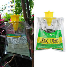 Fly Trap Catcher Bug Mosquito Killer Moth Killer Pest Control Hanging Bag B bw