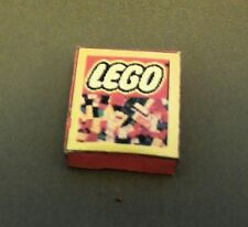 Dollhouse Miniature 1:12 Scale Red Lego Box (non-opening)