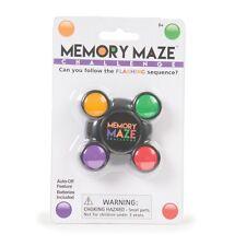 Memoria de secuencia de luz de bolsillo divertido laberinto juego Cumpleaños media relleno Santa Secreto
