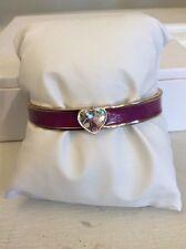 Vera Bradley Heart Bangle Bracelet - Plum Crazy $38