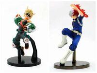 My Hero Academia DXF Katsuki Bakugou Todoroki Shoto 2 pcs Toy Action Figures Set