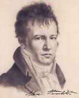 ALEXANDER VON HUMBOLDT - Repro-Autogramm - 20x24 cm - repro signed autograph