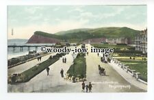 tq1435 - Early View across the Parade & Well Kept Gardens, Teignmouth - postcard