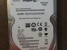 """Seagate ST9750422AS 9RW14G-567 FW:0001BSM1 SU 750gb 2.5"""" Sata HDD"""