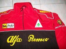NEU Alfa Romeo Corse Fan-Jacke schwarz /rot  jacket veste jas giacca jakka