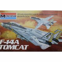 Monogram 1/48 Scale F-14A Tomcat Model Airplane Kit