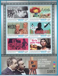 2020 Films Lumiere brothers Uruguay MNH ** s/s independent cinema LGTB interest