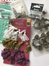 Craft Items - Job Lot - Scrapbooking Paper Crafts