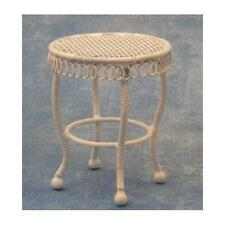 12th Scale White Garden Table For Dolls Houses etc. DF578