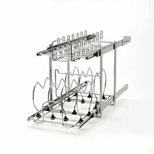 "Rev-A-Shelf 5CW2-1222-CR 12"" 2-Tier Cookware Organizer ( Refurbished)"