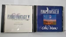 Final Fantasy IV & Final Fantasy V - B.O. (bande originale 2 cds) Très bon état