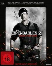 """""""THE EXPENDABLES 2"""" - Stallone Action Kult - BLU RAY STEELBOOK Hero Pack neuOVP"""