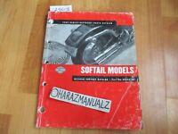 2002 HONDA Harley-Davidson Softail Parts Catalog Book Manual