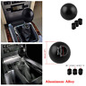 Black Round Ball Style Gear Stick Shift Knob Lever For Car Manual Transmission