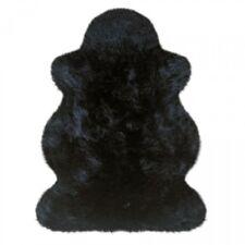 Lammfelle Australisches Lammfell Schwarz ca. 100 x 68 cm