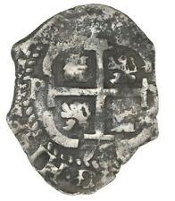 Potosi 2 reales 1679 V Consolacion, sunk in 1681 off Santa Clara Island Ecuador
