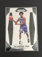 2017-18 Panini Prizm De'AARON FOX Rookie Card #24 RC Mint Kings Base