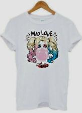 Official DC Comics HARLEY QUINN Mad Love Unisex White T-shirt NEW ⭐⭐XL⭐⭐