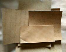 vera pelle cuoio 3mm A5-A4-A3-A2 pellami pelli bazzana naturale
