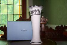 Rare Wedgwood Contrasts Tudor Vase *Made In England* Bone China w/Original Box