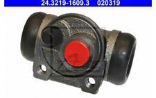ATE Cilindro de freno rueda PEUGEOT 106 207 CITROEN SAXO AX 24.3219-1609.3