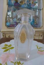 "Antique 1915 Vivaudou MAVIS 6.5"" Dragonfly Flacon EDT Perfume Bottle EMPTY"